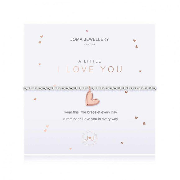 Joma Jewellery - A Little - I Love You