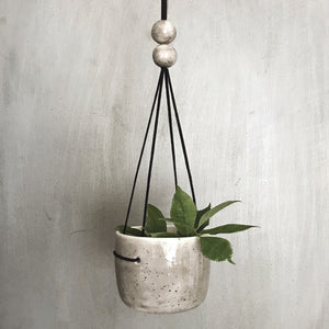 East of India - Rustic Planter - Speckled Wash
