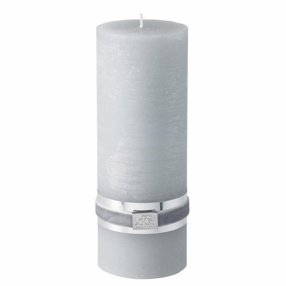 Candle Large - Light Grey