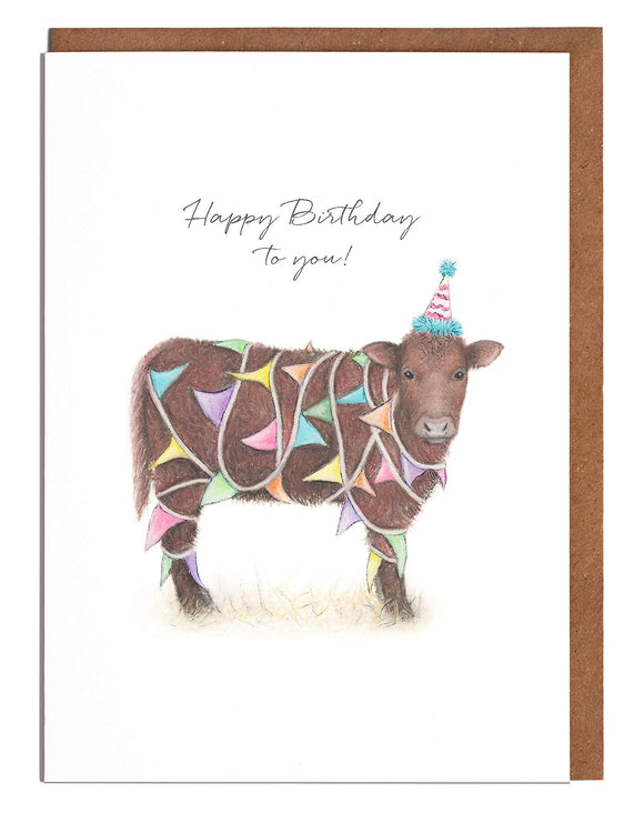Tangled Cow - Happy Birthday to You