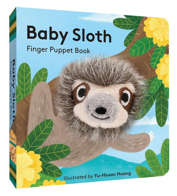 Baby Sloth - Finger Puppet Book