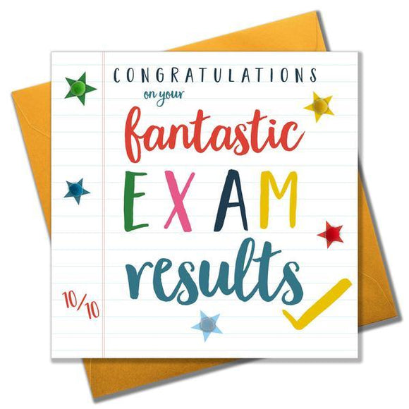 Fantastic Exam Results