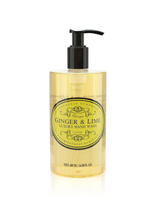 Naturally European Ginger & Lime 500ml Hand Wash
