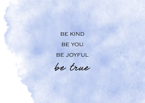 No.14 - Be Kind Be You
