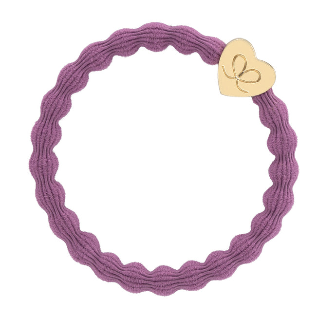 Hair Band Gold Heart Mulberry