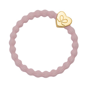 Gold Heart - Soft Pink Hairband