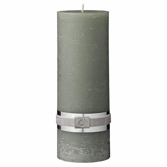 Candle Large - Willow Green