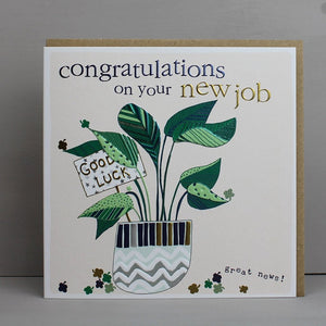 Congratulation on Your New Job