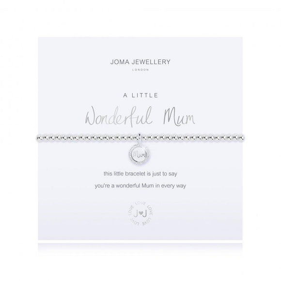 Joma Jewellery - Facetted - A Little - Wonderful Mum