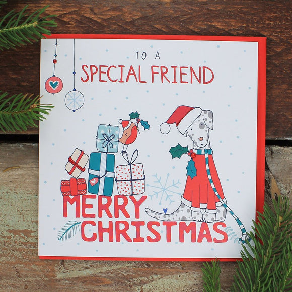 To a Special Friend - Merry Christmas
