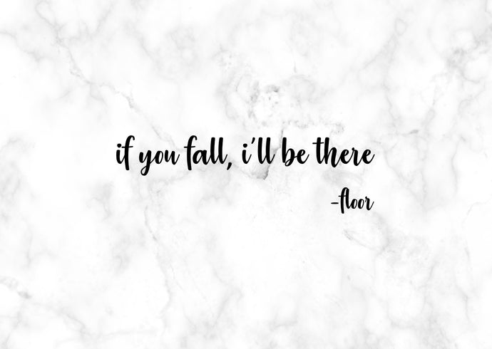 No.14 - If You Fall