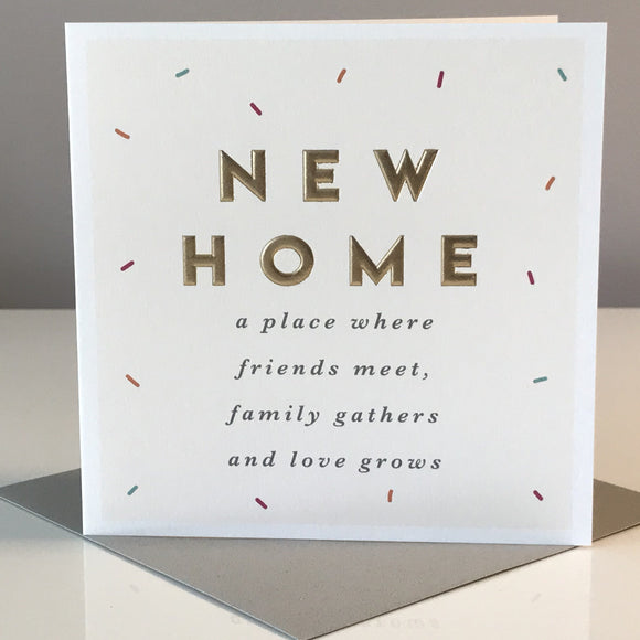 New Home A Place Where Friends Meet