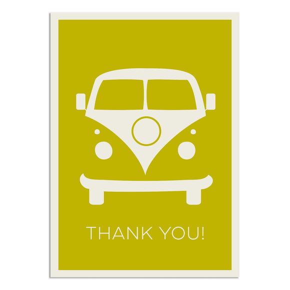 Campervan Thank You Cards