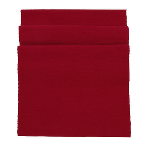 Cotton Table Runner - Florentine Red