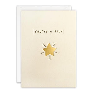 You're A Star Ingot Card