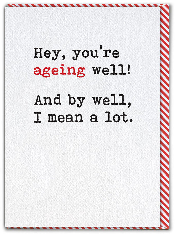 Ageing Well Birthday