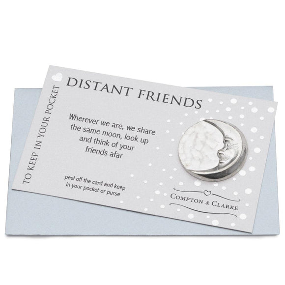 Distant Friends Pocket Charm