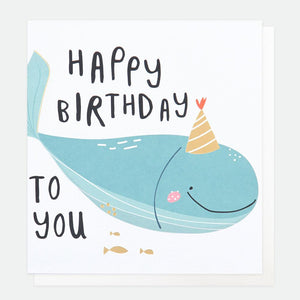 Happy Birthday To You Whale