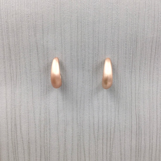 Gracee Jewellery - Brushed Rose Gold Earrings