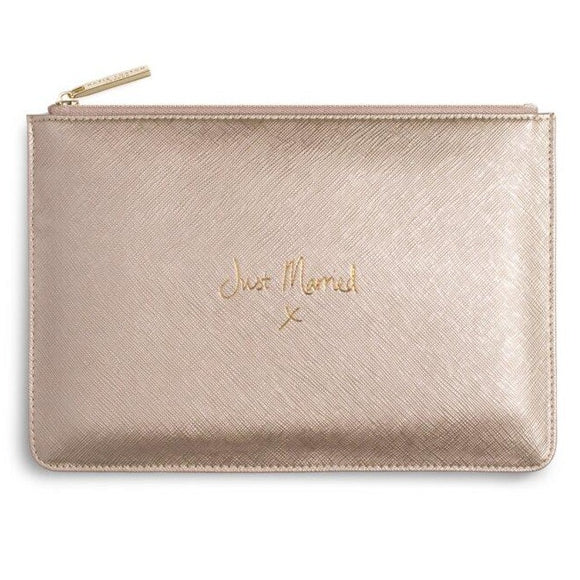 Katie Loxton - Pouch - Gold Just Married