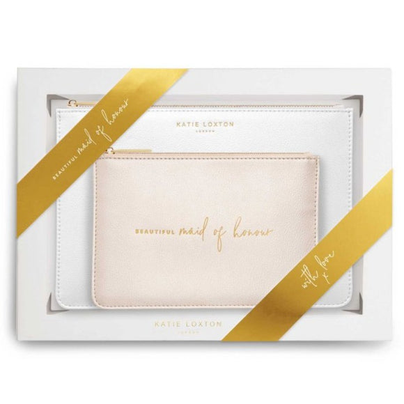 Katie Loxton Bridal Pouch Gift Set - Maid Of Honour