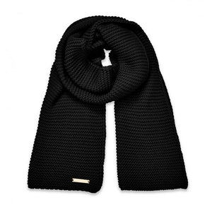 Katie Loxton Chunky Knit Scarf - Black