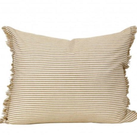 Raine & Humble - Abby Stripe Cushion Mustard