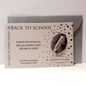 Carded Charm Back To School ­- Pencil