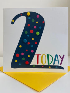 2 Today Pom Pom Card