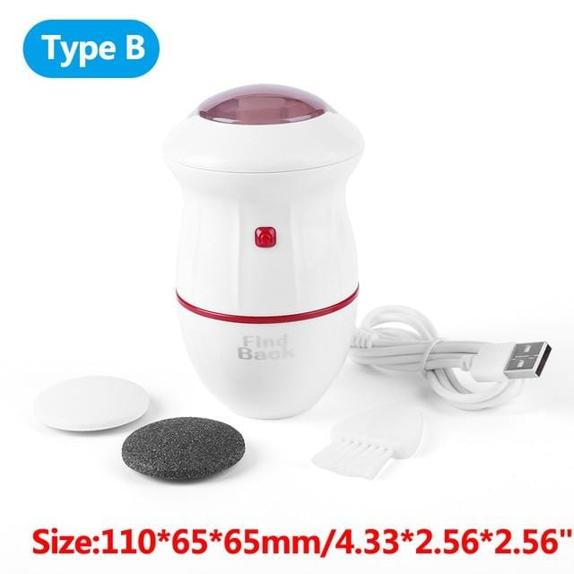 Electric Foot File Grinder Dead Skin Callus Remover