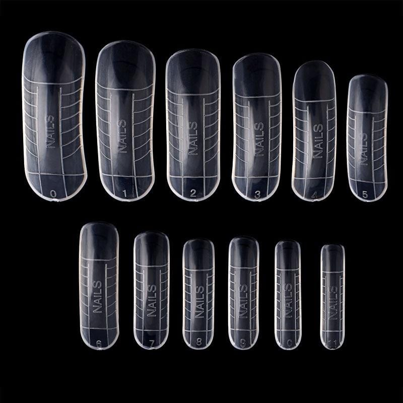 120 Pcs Quick Building Poly Gel Mold Tips