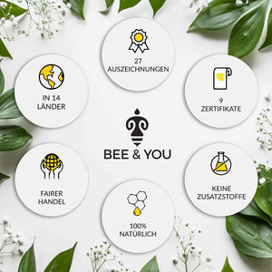 Bee & You Propolis Honig Lippenbalsam