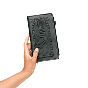Death is a Door Zip Wallet