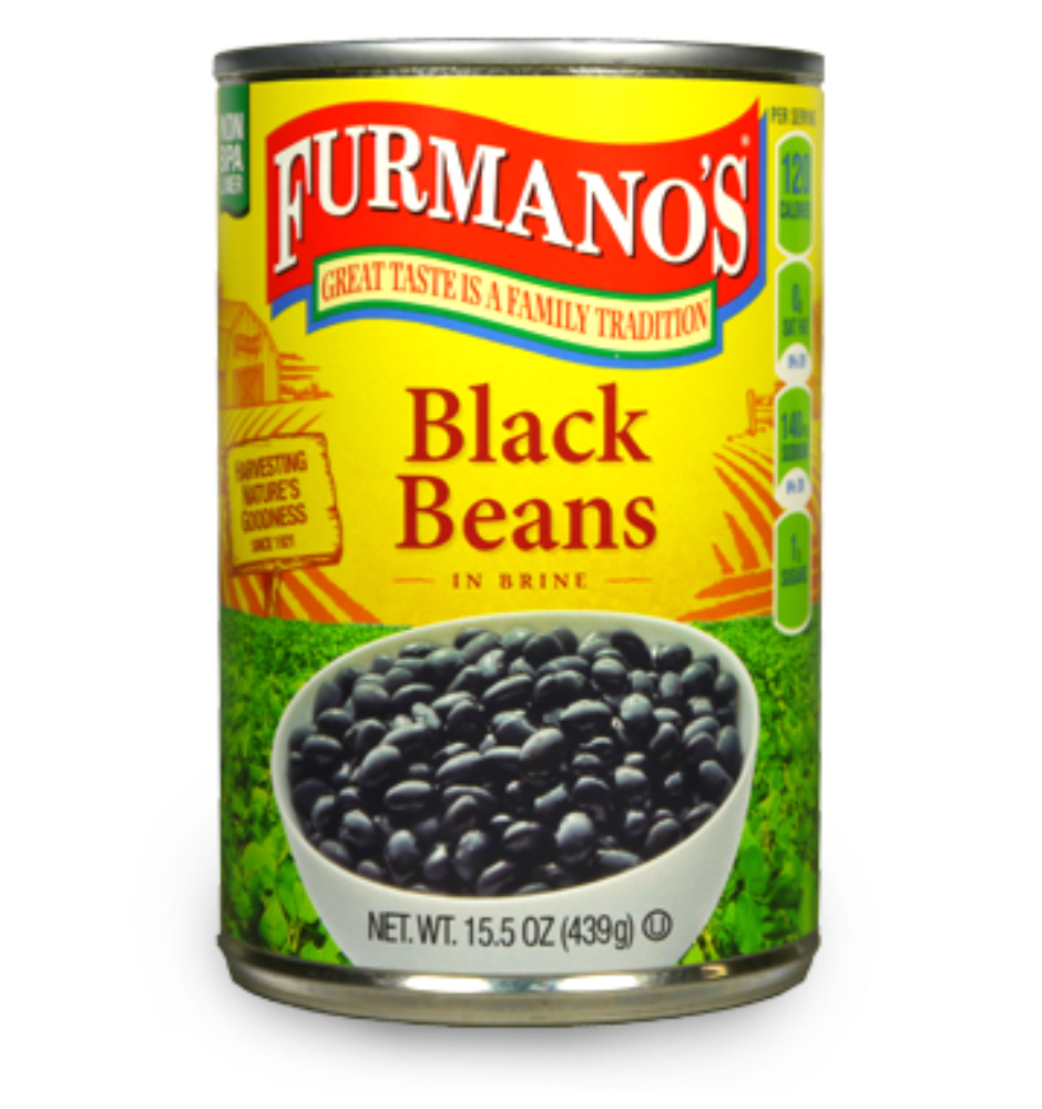 Beans BLACK BEANS 15.5oz Per Can