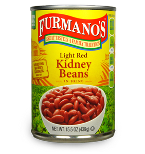 Beans LIGHT RED KIDNEY BEANS 15.5oz Per Can