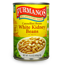 Load image into Gallery viewer, Beans Cannellini WHITE KIDNEY BEANS 15.5oz Per Can