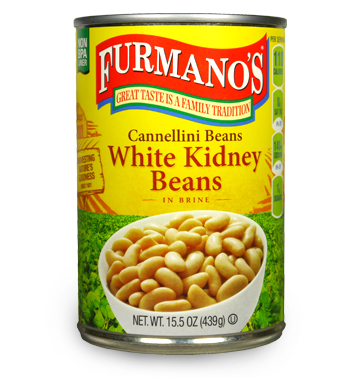 Beans Cannellini WHITE KIDNEY BEANS 15.5oz Per Can