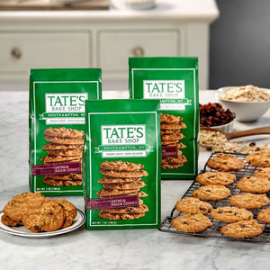 Cookies Tate's Bake Shop OATMEAL RAISIN 7oz Bag