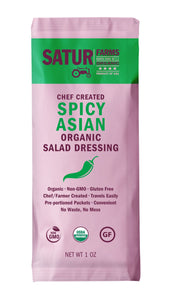 Dressing SPICY ASIAN Satur Farms ORGANIC 6/1oz Pack