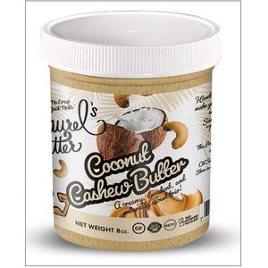 Laurel's Butter-Coconut Cashew Butter- (8oz) Per Jar