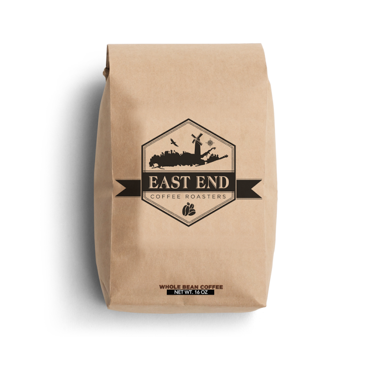 Ground Coffee 1lb Bag- East End Coffee Roasters-FRENCH VANILLA- Per Bag