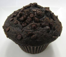 Load image into Gallery viewer, Muffins DOUBLE CHOCOLATE CHIP -Per Dozen