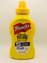 Load image into Gallery viewer, MUSTARD French's-CLASSIC YELLOW-12oz Squeeze Bottle
