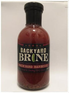 BBQ Sauce- BACKYARD BRINE BARBECUE-13.5oz Jar