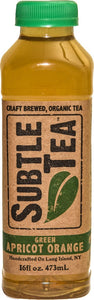 Iced Tea SUBTLE TEA GREEN APRICOT ORANGE- CASE 12/16oz  Bottles