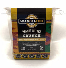 Load image into Gallery viewer, GranolaChik PEANUT BUTTER 10oz Container