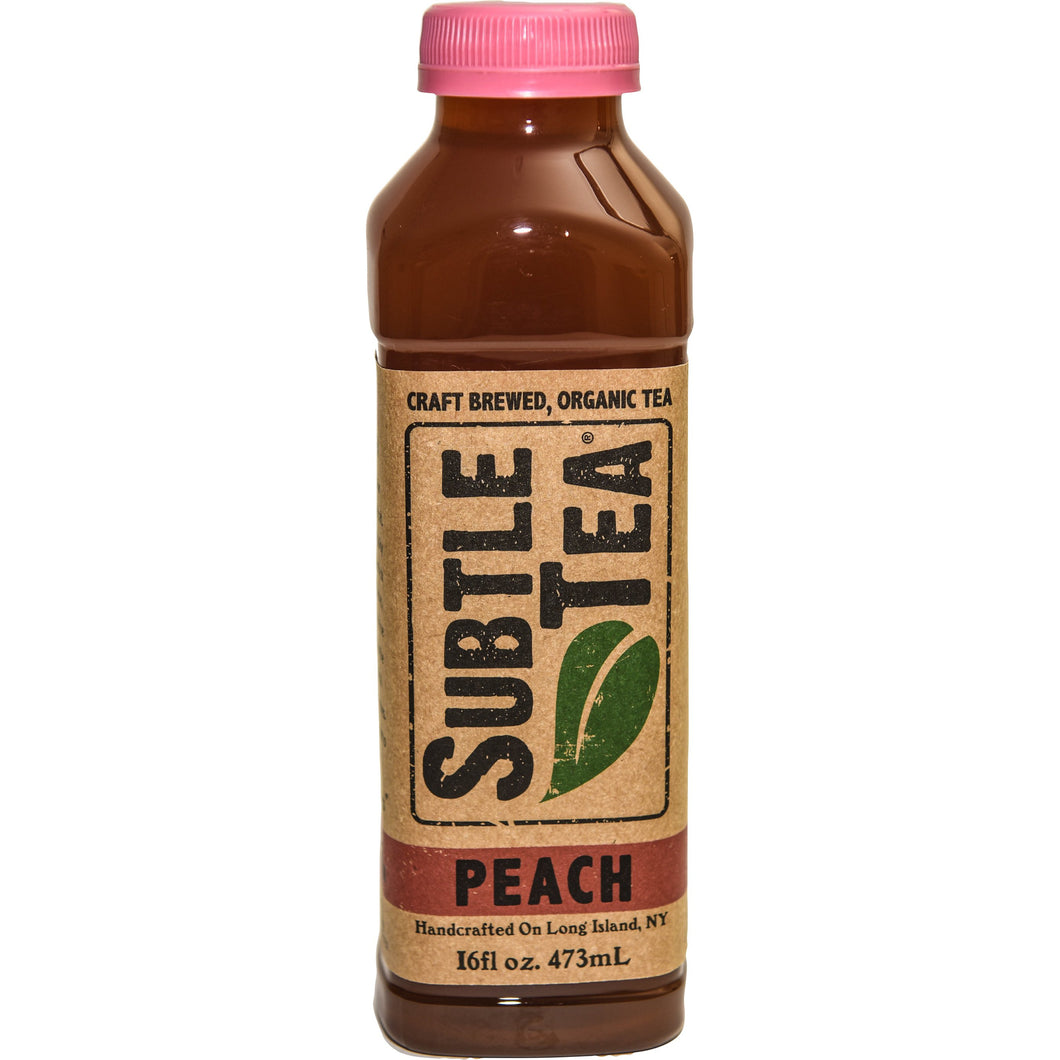 Iced Tea SUBTLE TEA PEACH- CASE 12/16oz  Bottles