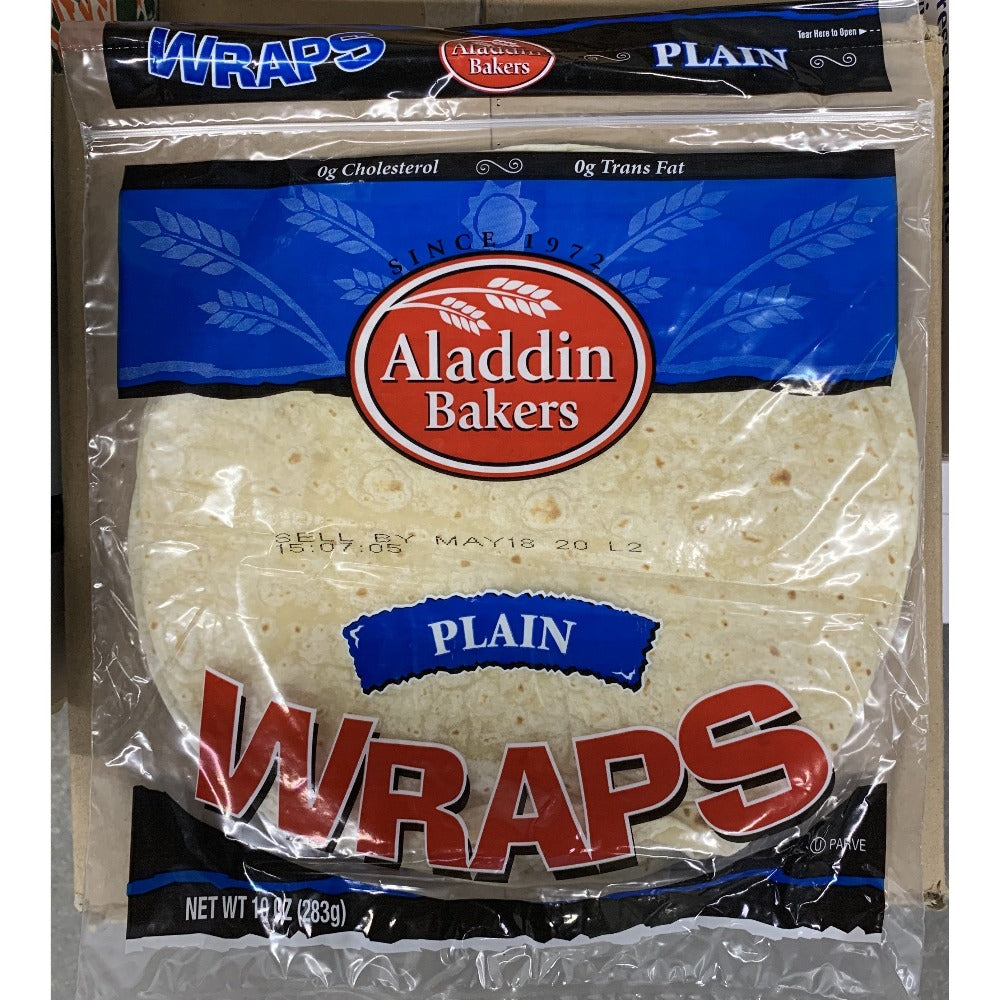 Wraps Plain Flour -Per Pack