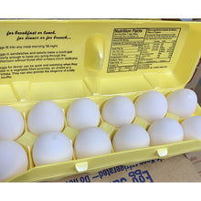 Load image into Gallery viewer, Eggs White-12 Count Per Carton