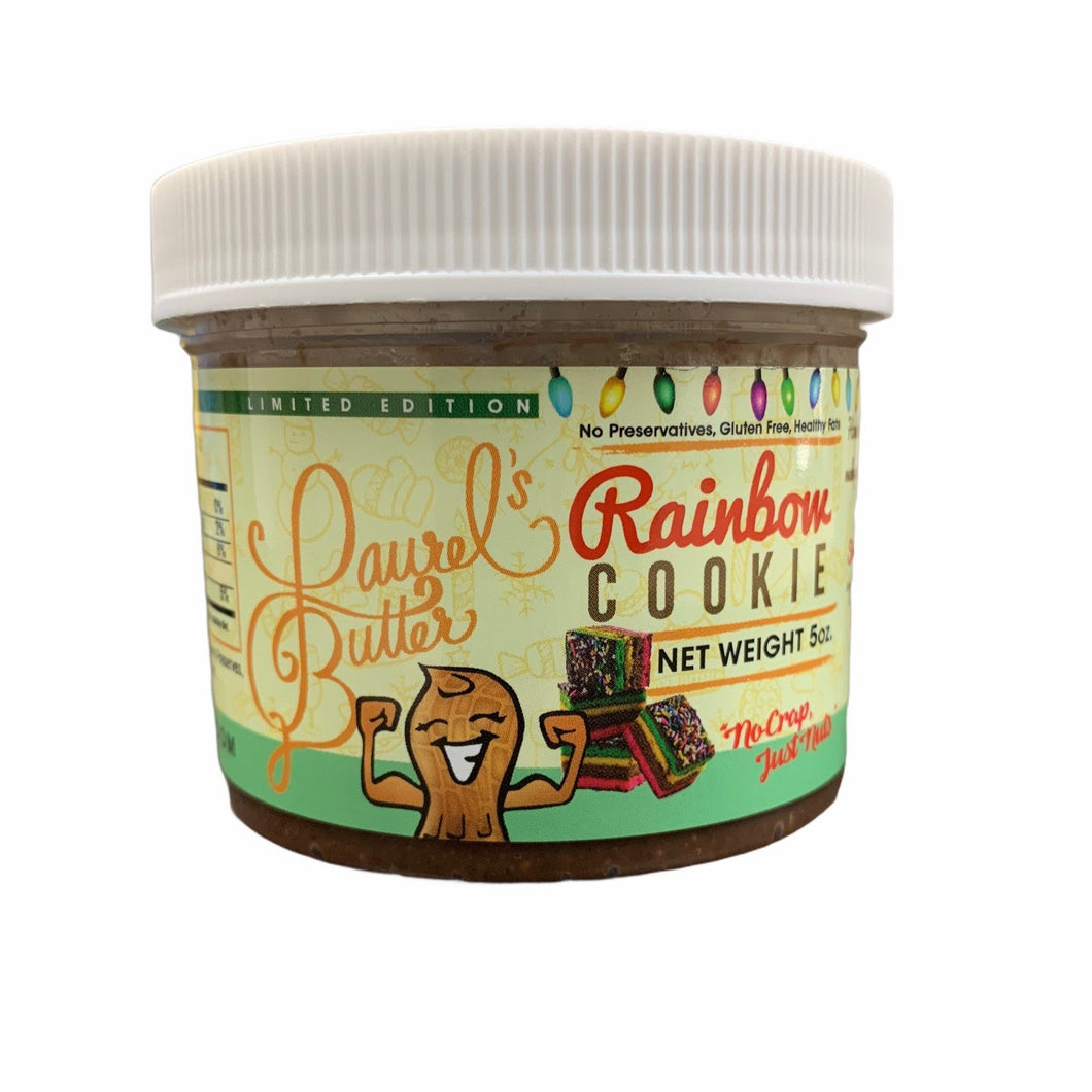 Laurel's Butter- RAINBOW COOKIE- (5oz) Per Jar